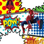 Free Marvel Spiderman Comic Style Invitation Template | Partying   Free Printable Superhero Birthday Invitation Templates