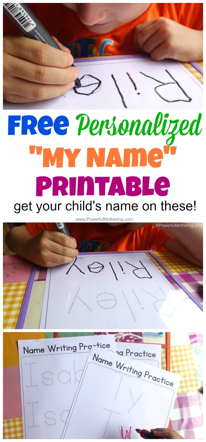Free Name Tracing Worksheet Printable + Font Choices - Free Printable Name Tracing Worksheets For Preschoolers
