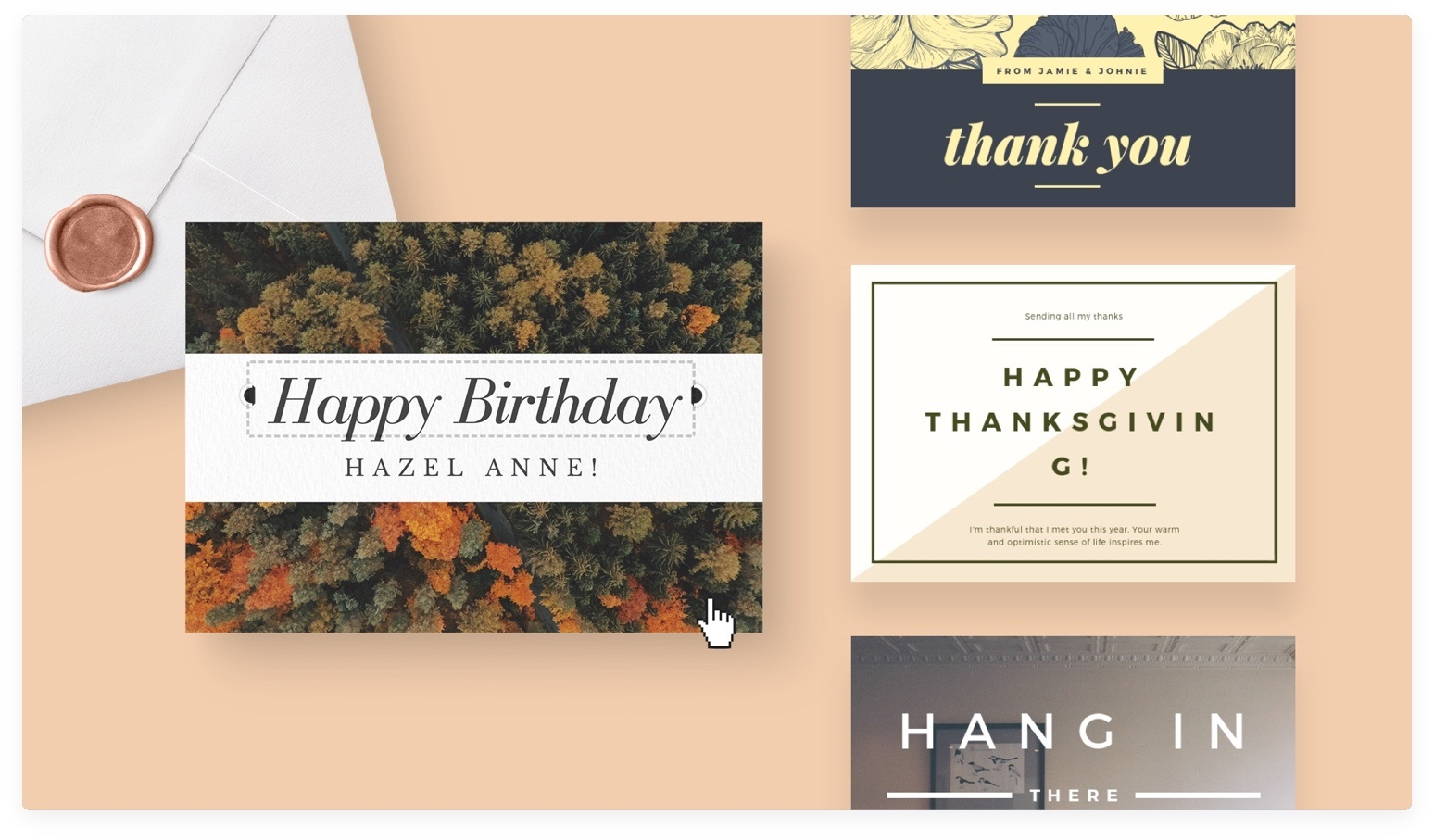 Free Online Card Maker: Create Custom Designs Online | Canva - Make Your Own Printable Birthday Cards Online Free