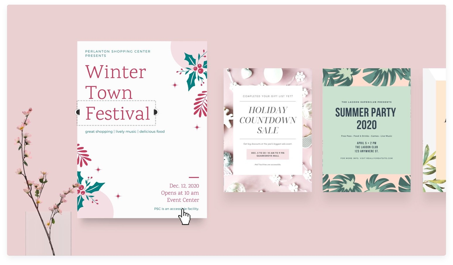 Free Online Flyer Maker: Design Custom Flyers With Canva - Create Free Printable Flyer