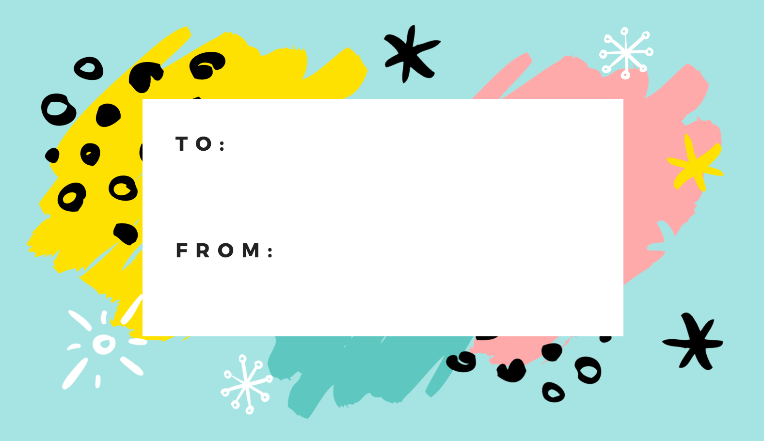 Free Online Gift Tags Maker: Design A Custom Gift Tag - Canva - Printable Gift Tags Customized Free