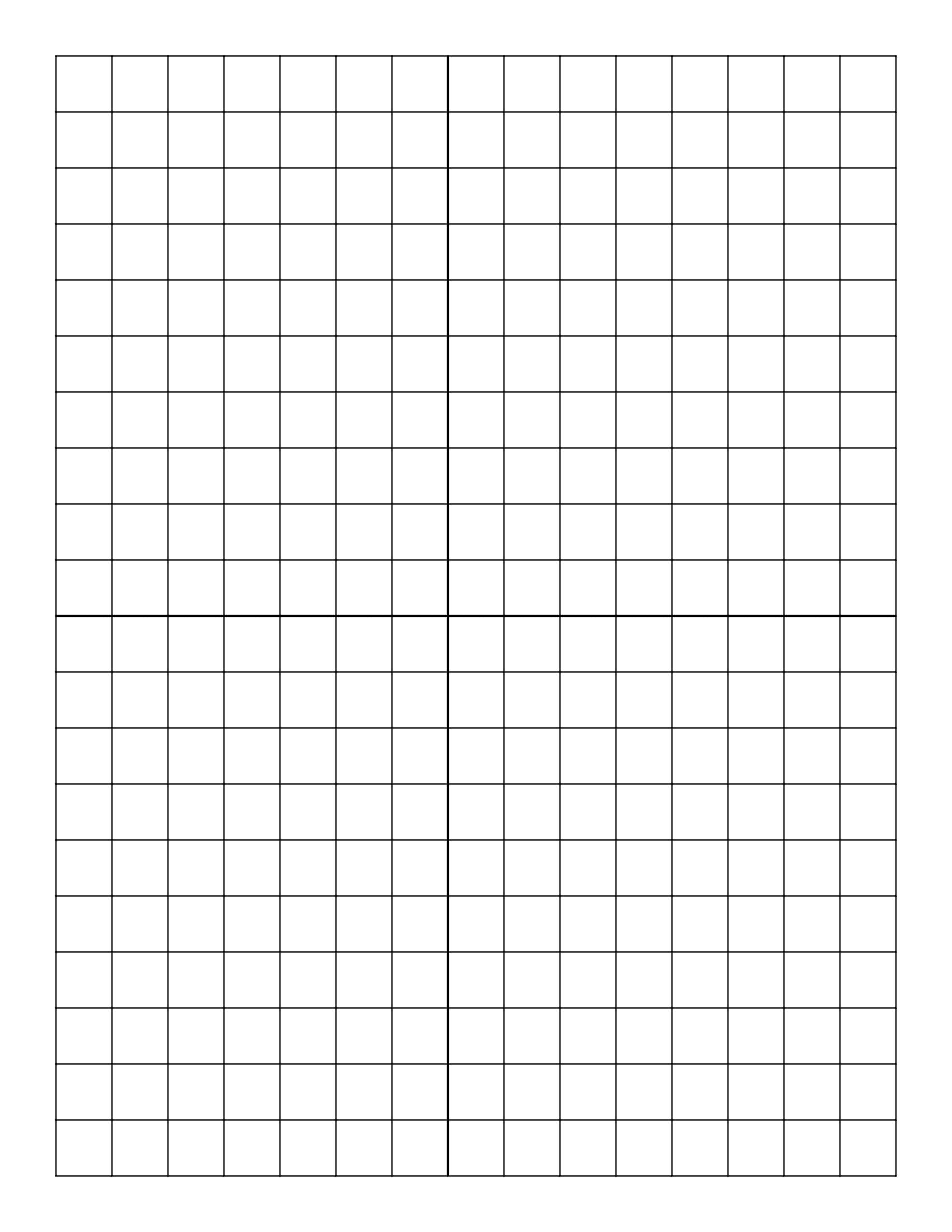 Free Online Graph Paper / Plain - Free Printable Graph Paper 1 4 Inch