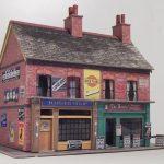 Free Oo Gauge & Ho Scale Building Kits Fergus 3Dk   Free Printable Model Railway Buildings