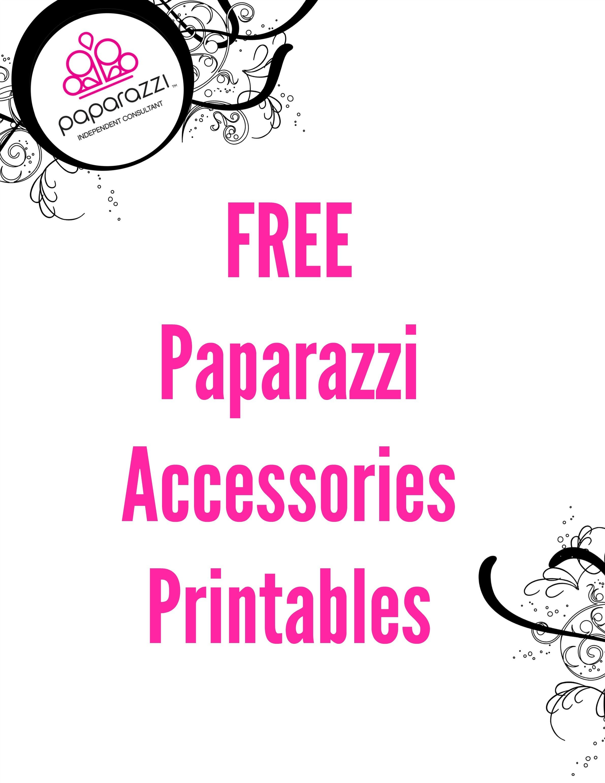 Free Paparazzi Accessories Printables   Paparazzi Accessories - Free Printable Mirrored Numbers