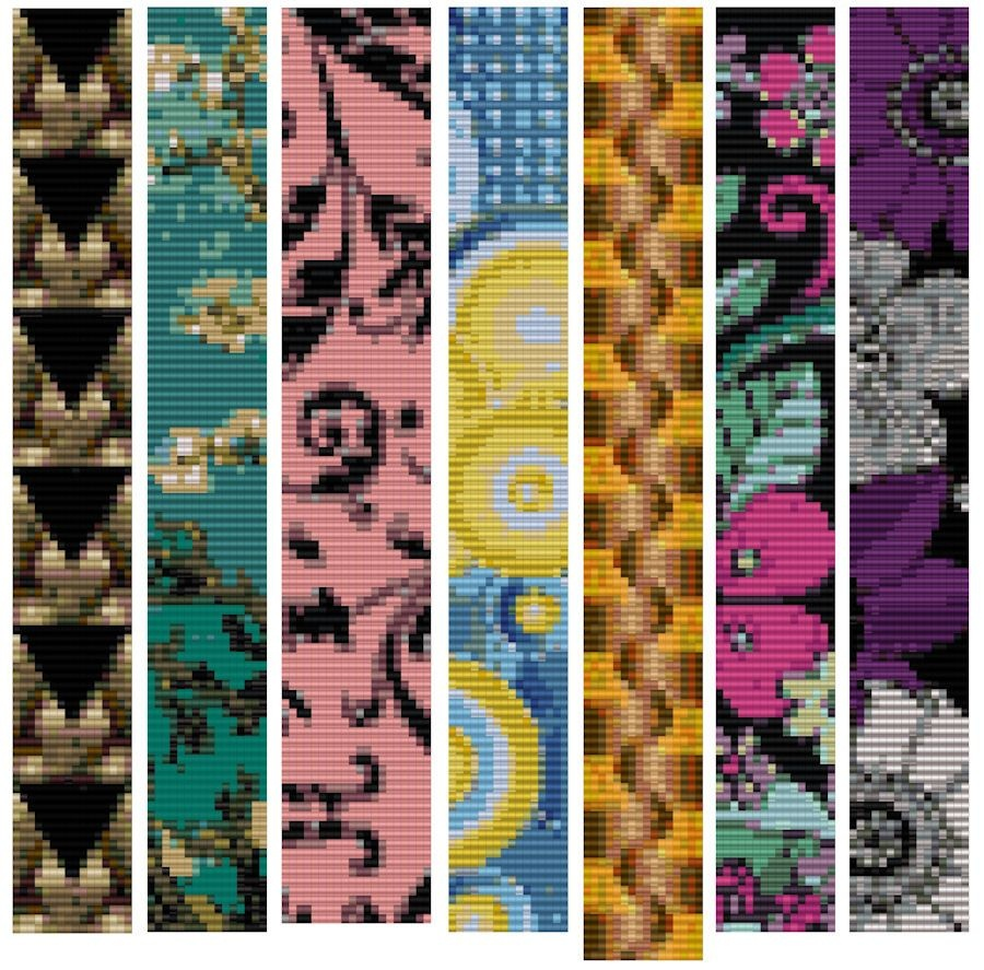 Free Patterns, Jayceepatterns | Beads | Bead Loom Patterns, Loom - Free Printable Loom Bracelet Patterns