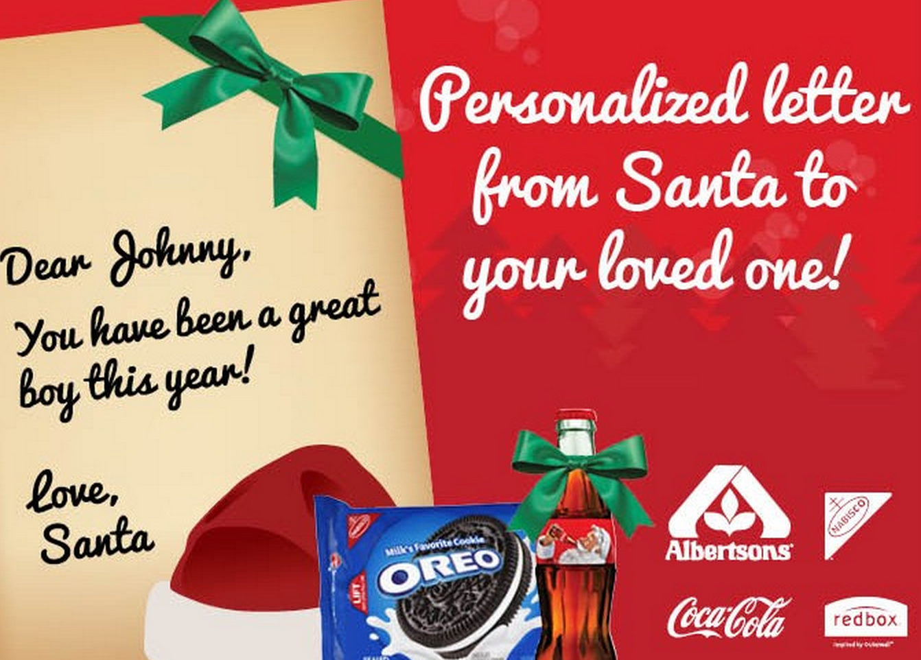 Free Personalized Letter From Santa Claus + Redbox Offer & Printable - Free Personalized Printable Letters From Santa Claus