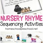 Free Preschool Printables For Your Homeschool Preschool   Free Printable Nursery Resources