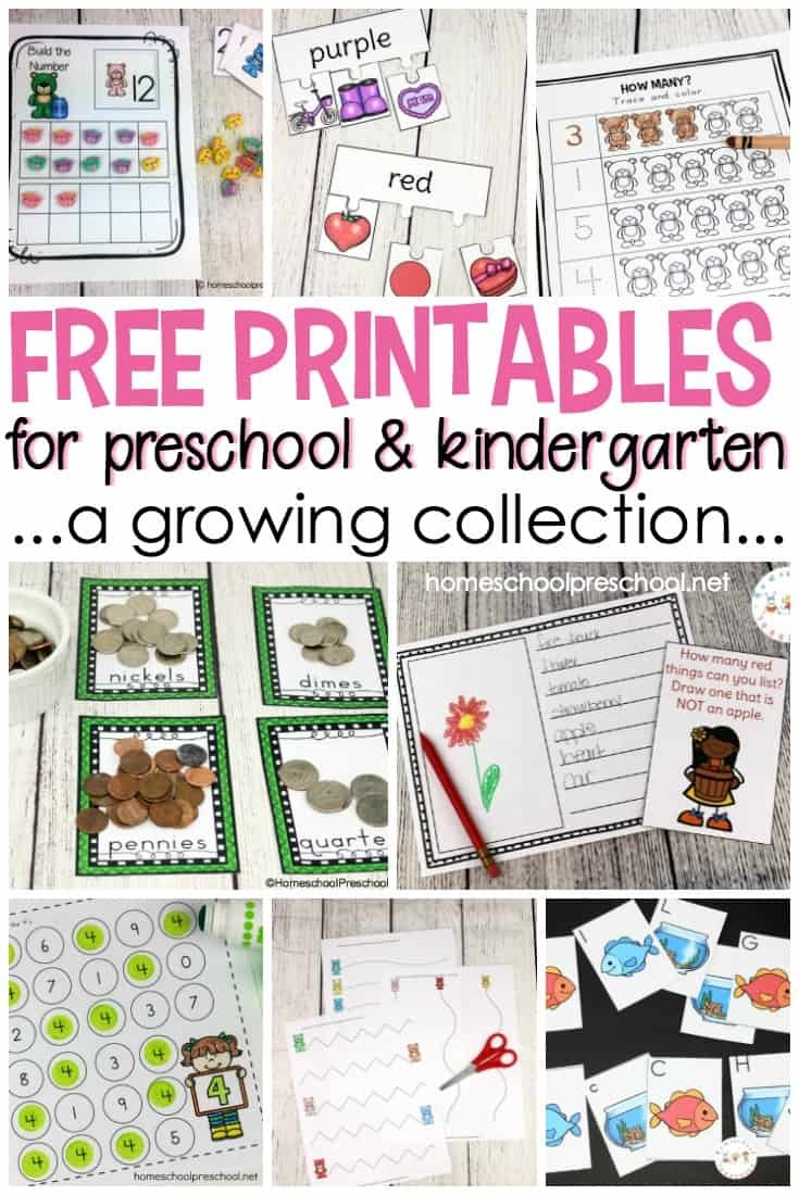 Free Preschool Printables For Your Homeschool Preschool - Free Printable Picture Schedule For Preschool
