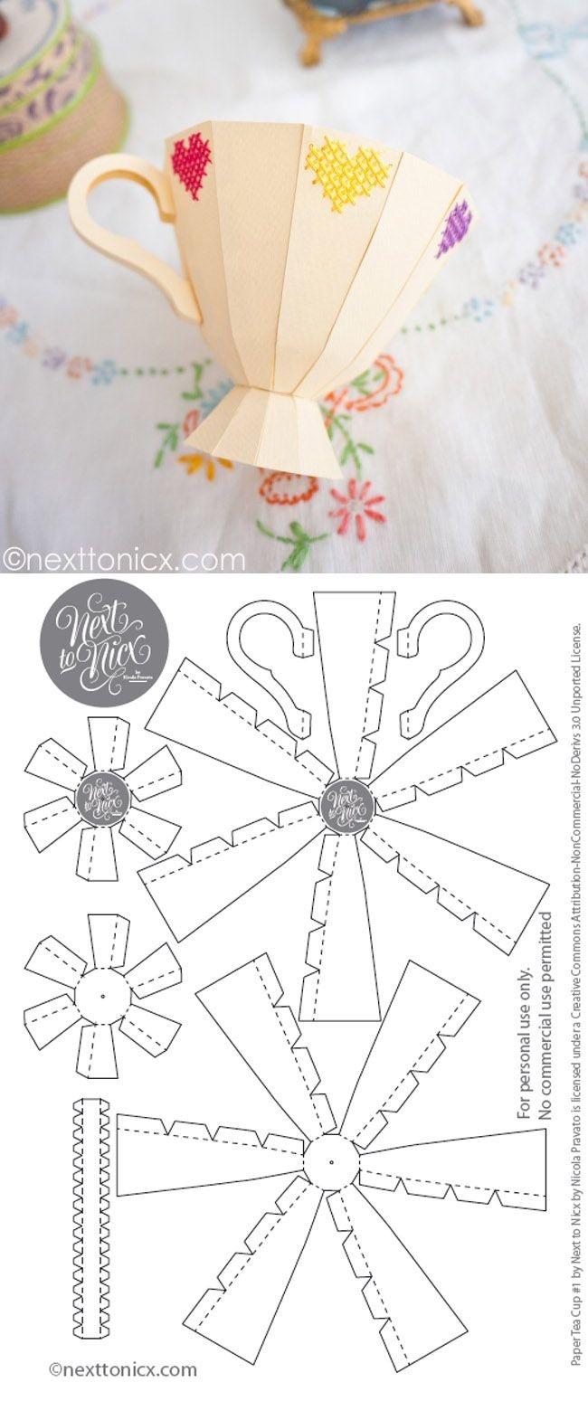 Printable Paper Crafts Free
