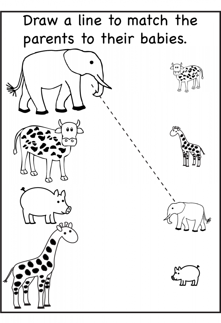 Free Printable Activity Sheets For Kids ~ Learningwork.ca - Free Printable Activities For Kids