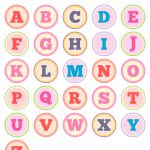 Free Printable Alphabet Letter Tags – Diy Buchstaben Sticker   Free Printable Alphabet Letters