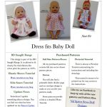 Free Printable American Girl Doll Clothes Patterns Lovely Doll   American Girl Clothes Patterns Free Printable