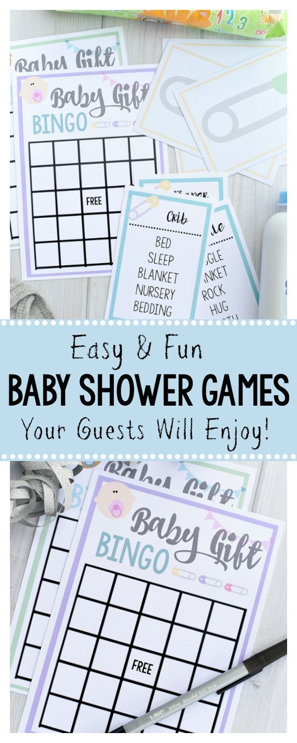 Free Printable Baby Shower Games For Large Groups   Baby Ideas - Free Printable Group Games