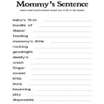Free Printable Baby Shower Games | Showers | Free Baby Shower Games   Free Printable Baby Shower Games For Large Groups