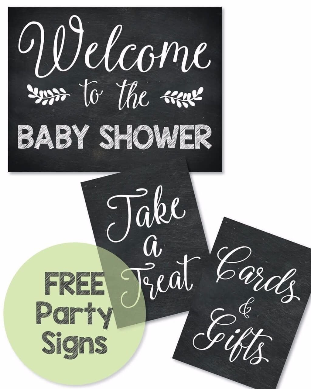 Free Printable Baby Shower Signs - Print It Baby | Baby Shower - Free Printable Baby Shower Table Signs