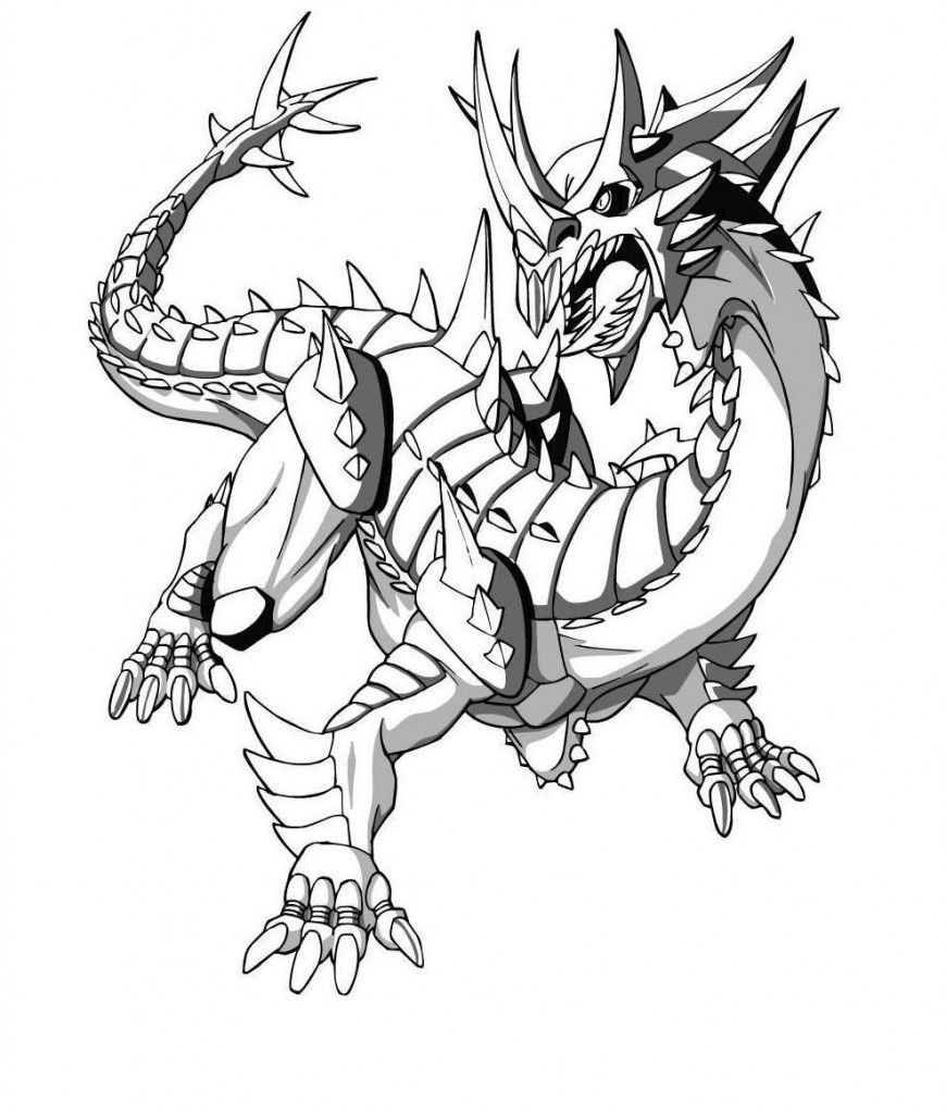 Free Printable Bakugan Coloring Pages For Kids | Places To Visit - Printable Bakugan Coloring Pages Free