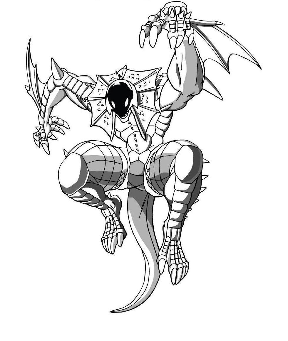 Free Printable Bakugan Coloring Pages For Kids - Printable Bakugan Coloring Pages Free