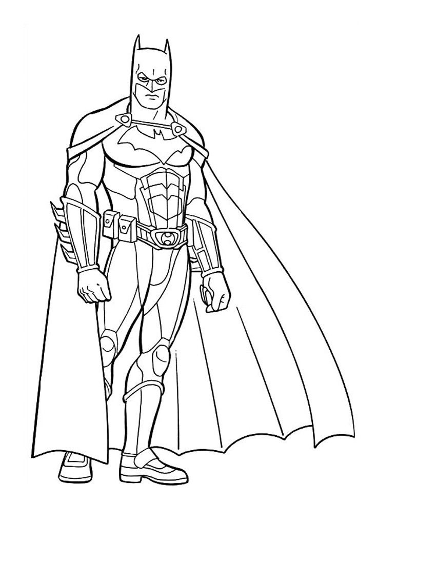 Free Printable Batman Coloring Pages For Kids | Vbs Decorations - Free Printable Batman Coloring Pages