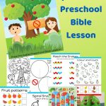 Free Printable Bible Lesson For Preschool Children. Teaching The   Free Printable Bible Crafts