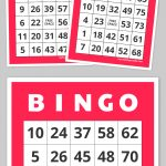 Free Printable Bingo Cards | Family Nights Education | Free   Free Printable Number Bingo Cards 1 20