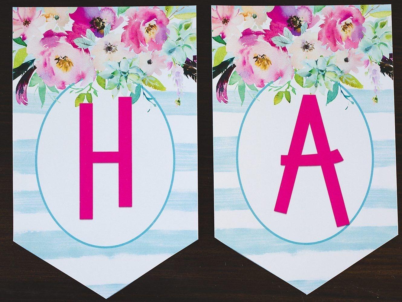 Free Printable Birthday Banner | Mom 70Th | Printable Birthday - Free Printable Happy Birthday Banner