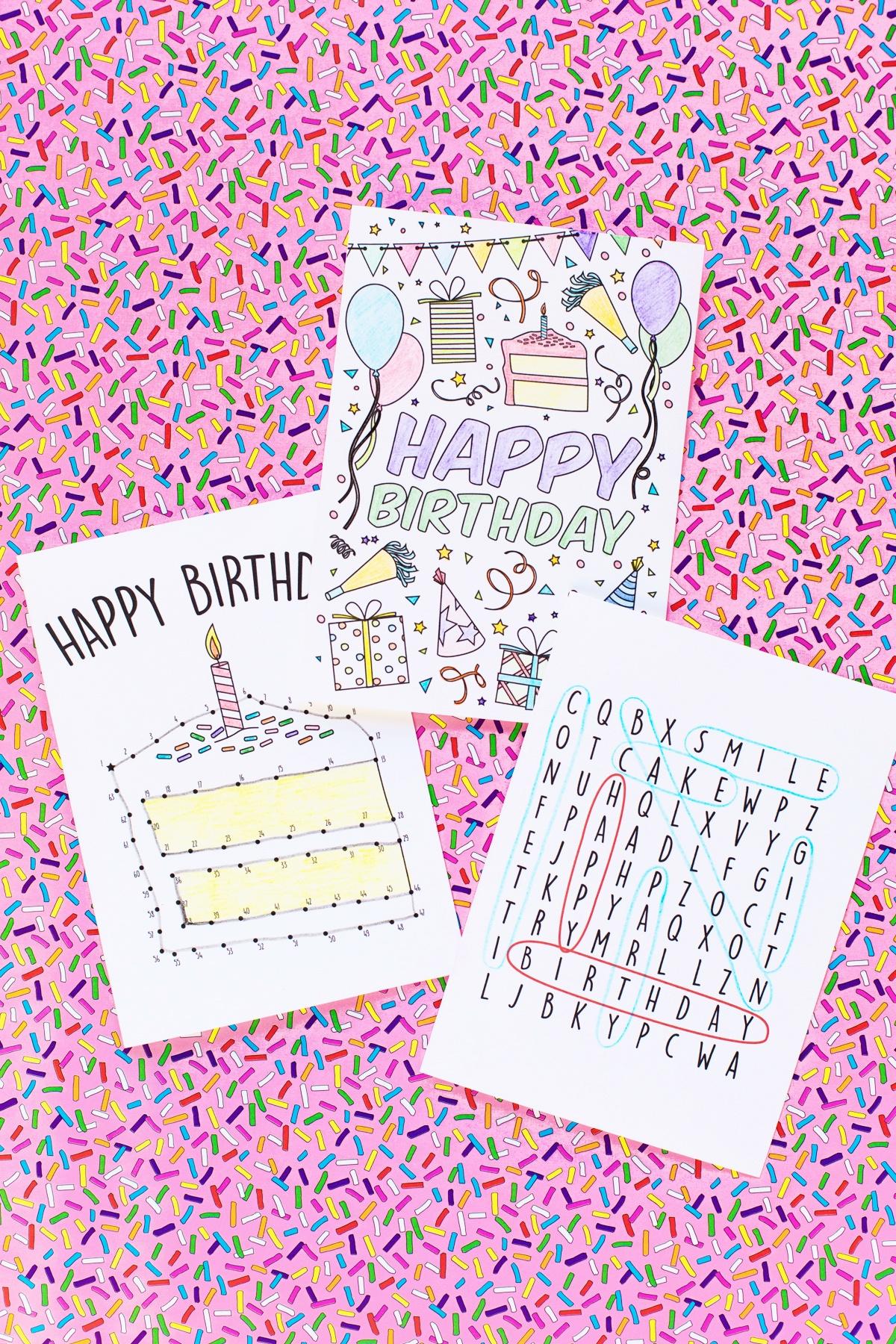 Free Printable Birthday Cards For Kids - Studio Diy - Free Printable Birthday Cards For Kids