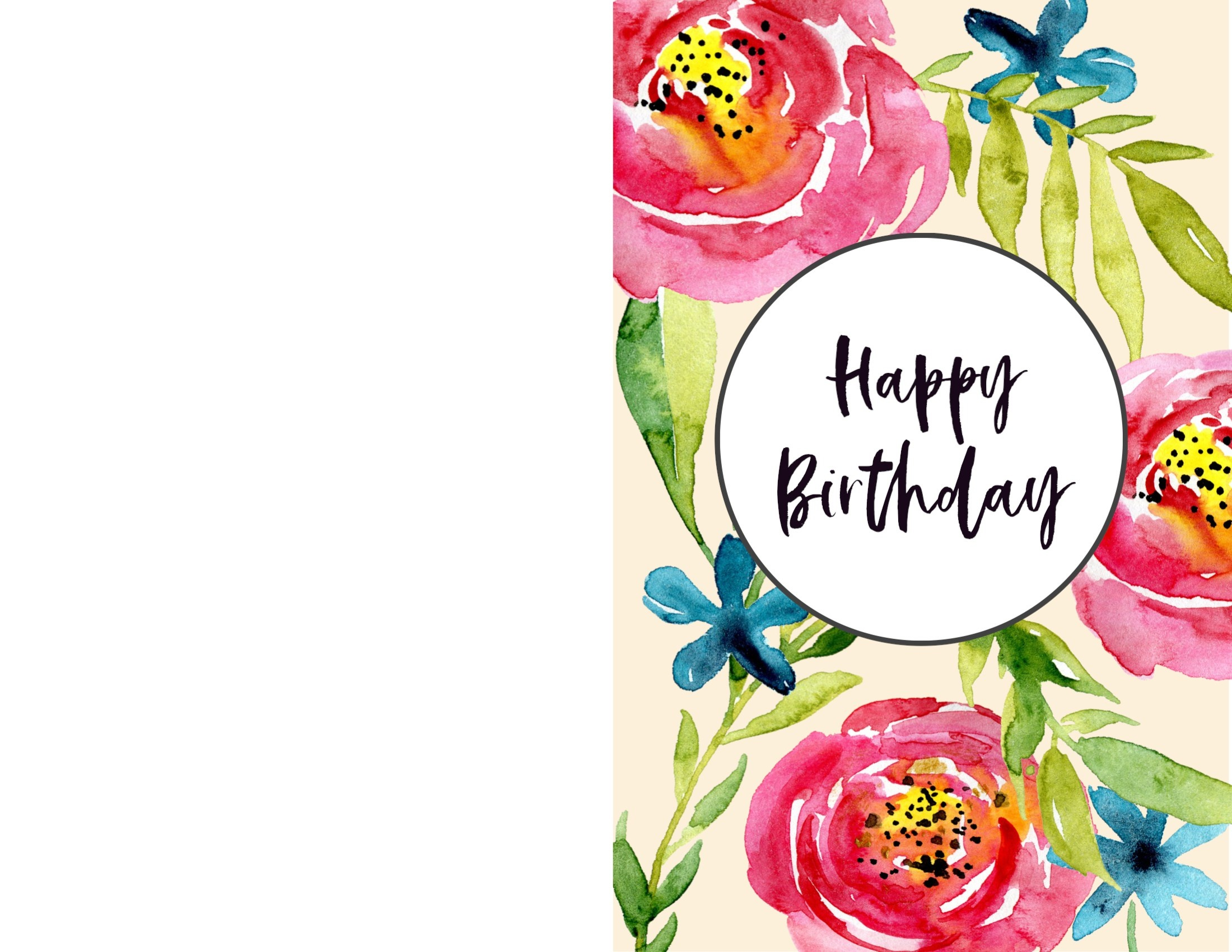 Free Printable Birthday Cards - Paper Trail Design - Happy Birthday Free Cards Printable