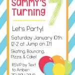 Free Printable Birthday Invitation Templates   Free Printable Birthday Invitation Cards