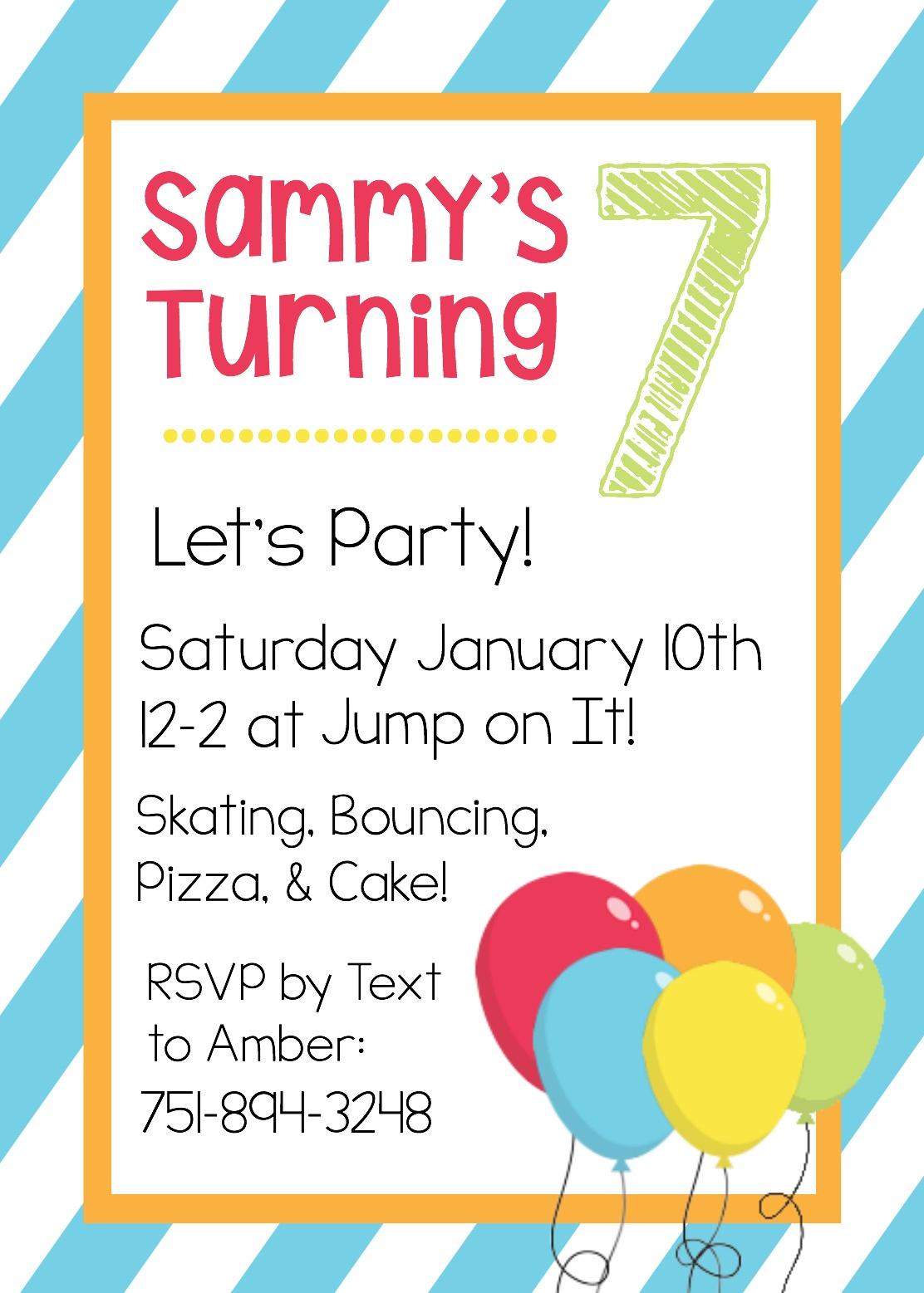 Free Printable Birthday Invitation Templates - Free Printable Invitation Maker