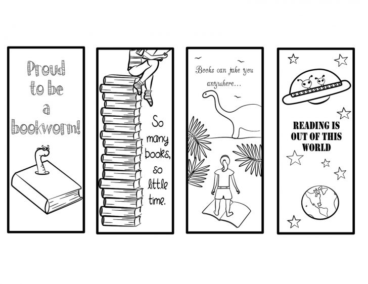 Free Printable Bookmarks Templates