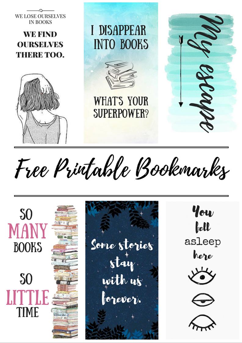 Free Printable Bookmarks | Crafty | Free Printable Bookmarks, Diy - Free Printable Images