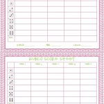 Free Printable Bunco Score Sheets Only | Feel Free To Print It Out   Free Printable Bunco Game Sheets