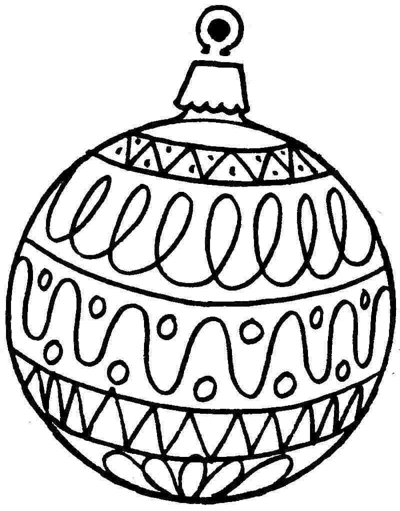 Free Printable Christmas Ornament Coloring Pages | Projects To Try - Free Printable Ornaments To Color