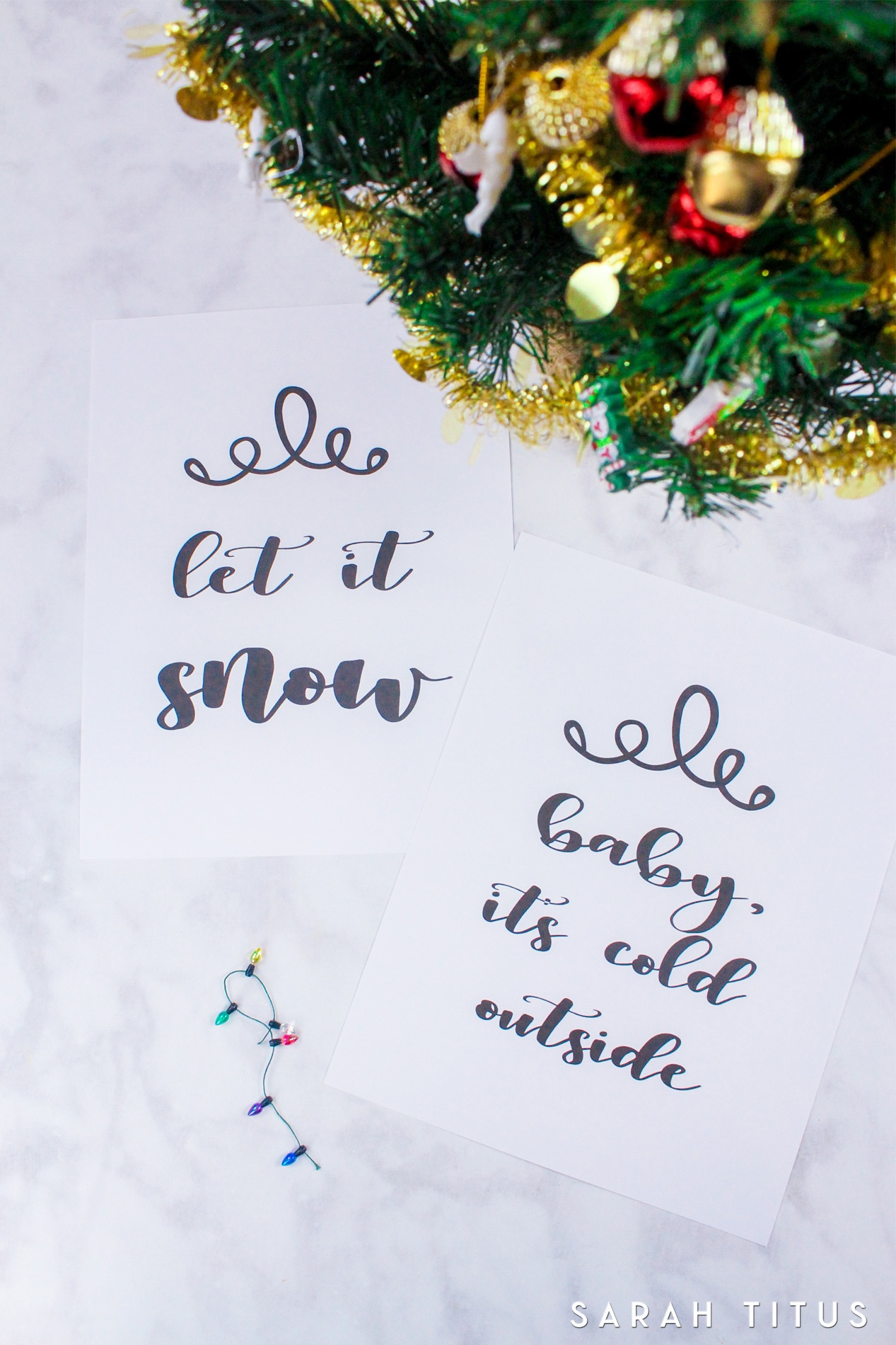 Free Printable Christmas Signs - Sarah Titus - Free Printable Holiday Signs Closed