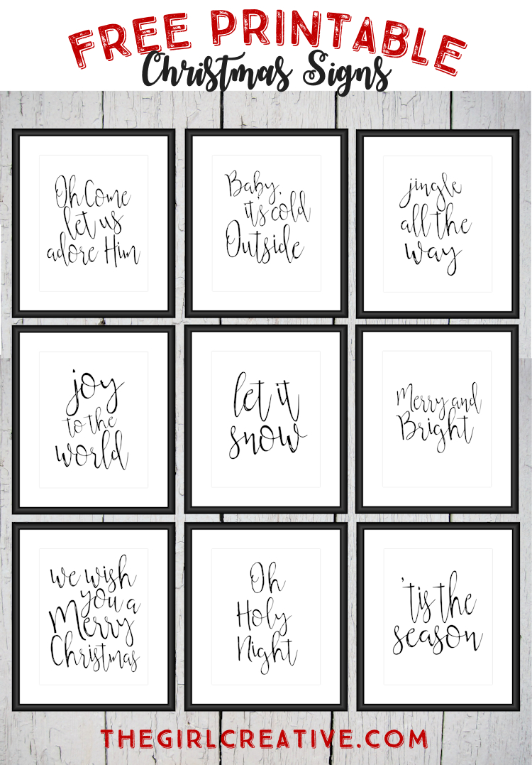 Free Printable Christmas Signs   The Top Pinned   Free Christmas - Free Printable Holiday Signs Closed