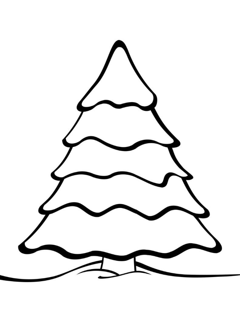 Free Printable Christmas Tree Templates   Christmas   Colorful - Free Printable Christmas Tree Images