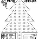 Free Printable Christmas Word Search | Christmas Games | Christmas   Free Printable Christmas Puzzles Word Searches