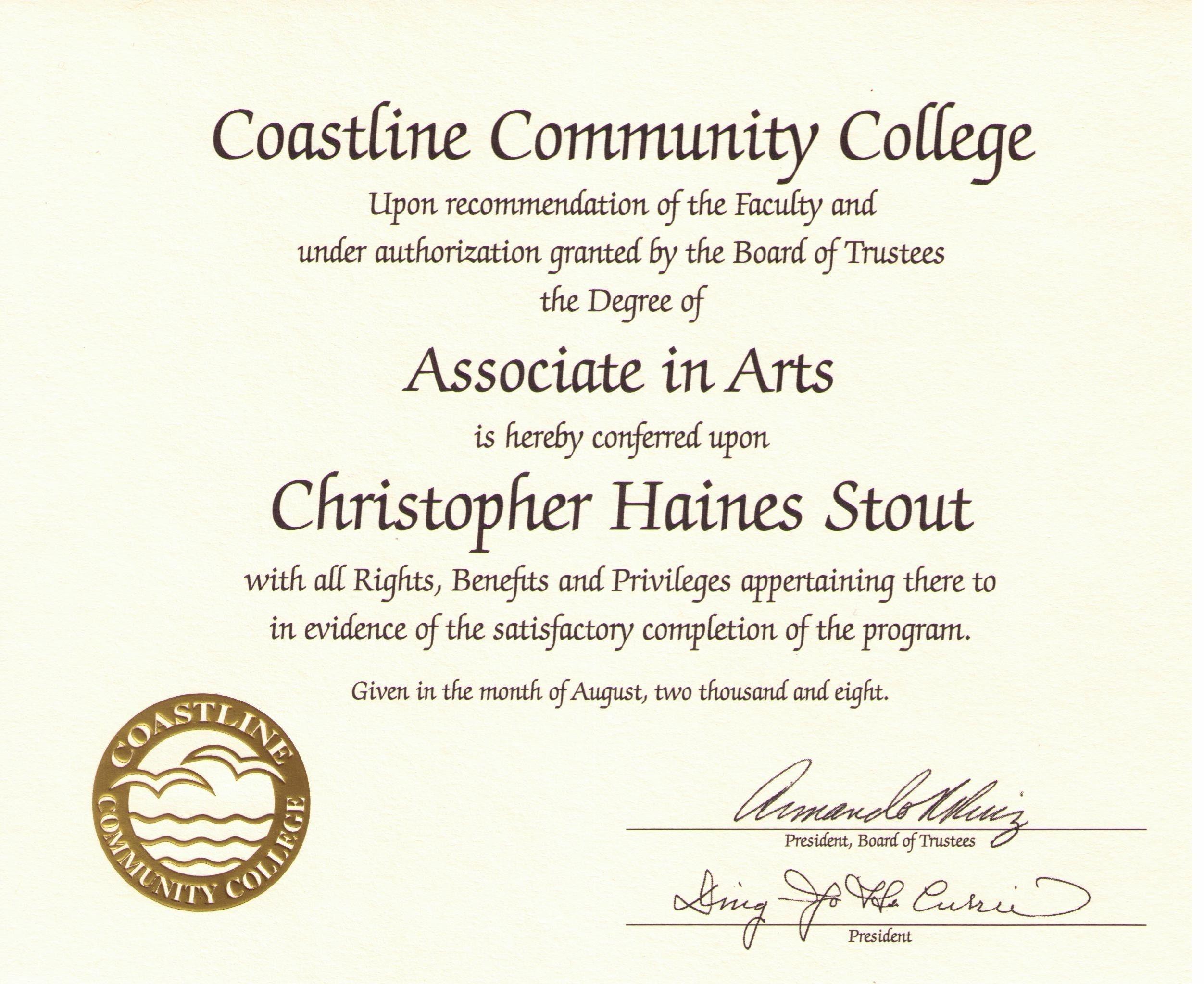 Free Printable College Diploma | Free Diploma Templates | In1 - Free Printable Diploma Template