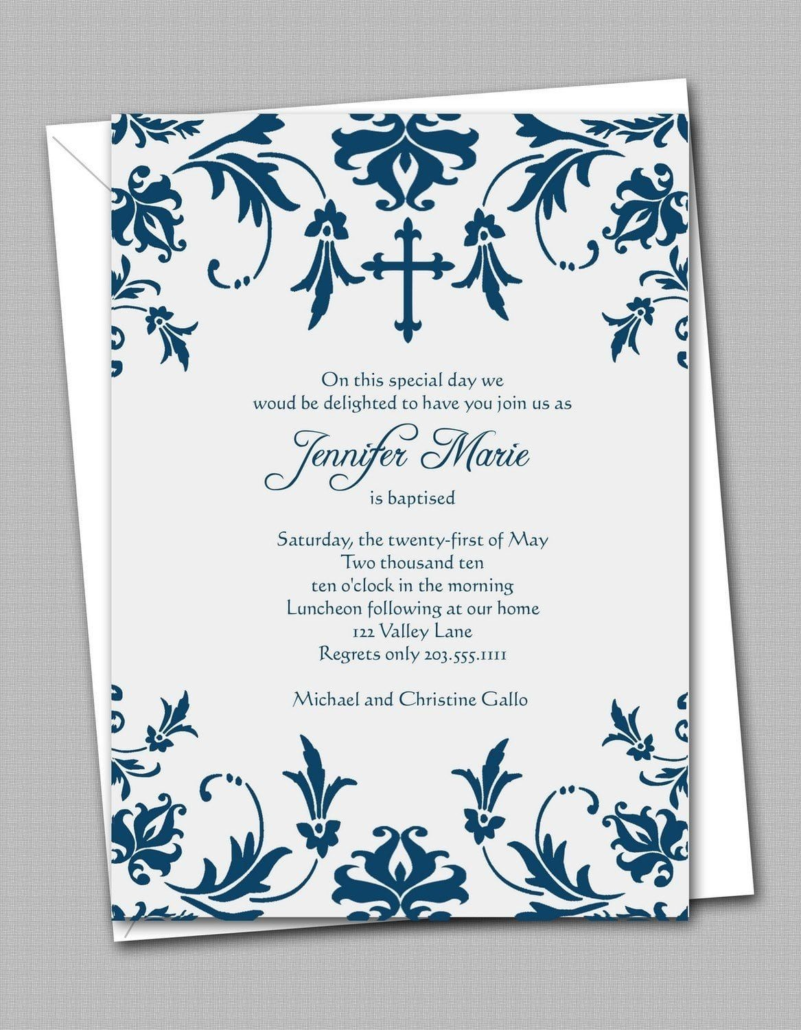 Free Printable Confirmation Invitation Templates | Confirmation - Free Printable Invitation Maker