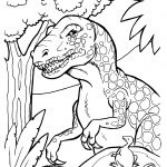 Free Printable Dinosaur Coloring Pages | Clip And Color Part Two   Free Printable Dinosaur Coloring Pages