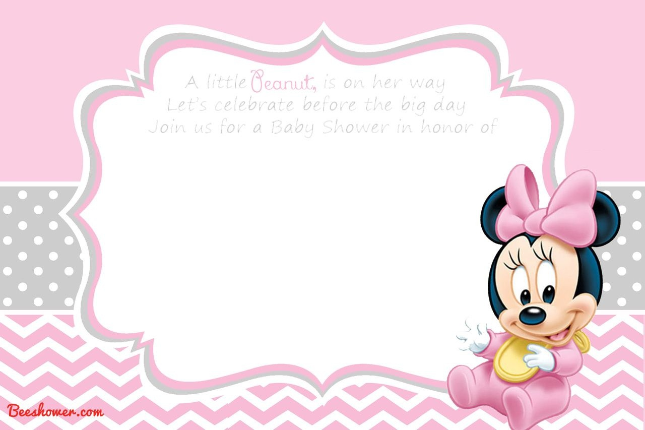 Free Printable Disney Baby Shower Invitations | Baby Shower | Free - Create Your Own Baby Shower Invitations Free Printable