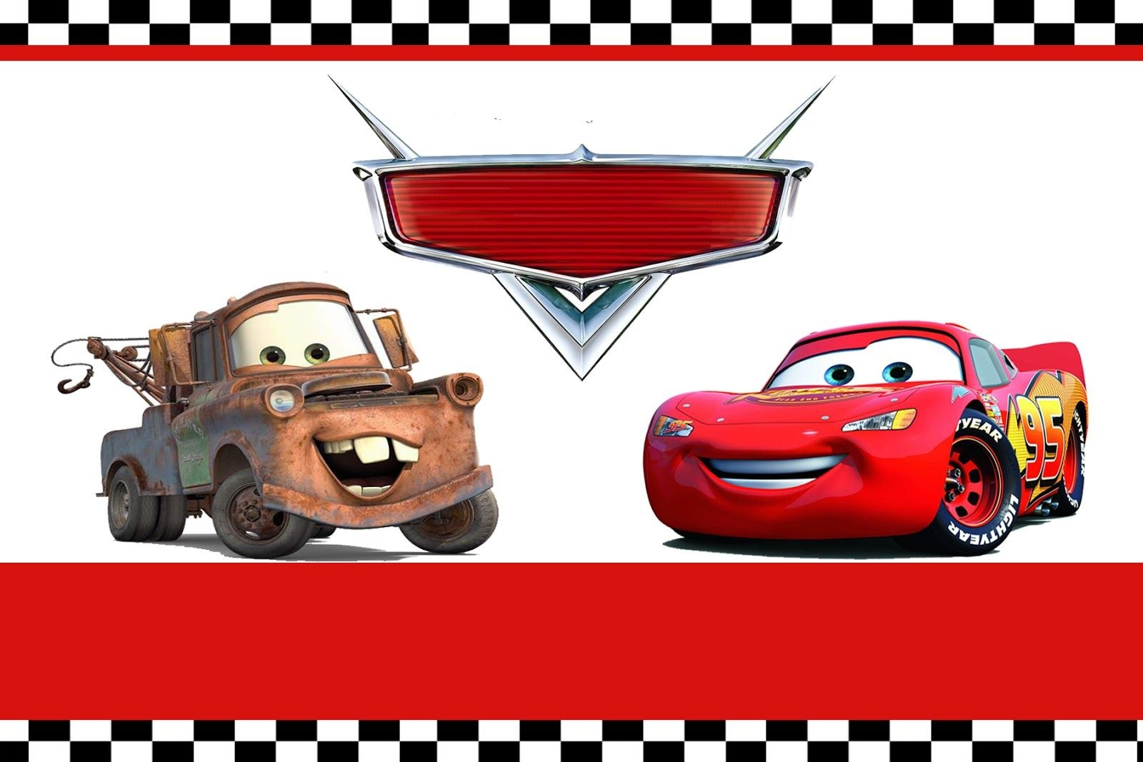 Free Printable Disney Cars Birthday Party Invitations Disney Cars - Free Printable Cars Food Labels