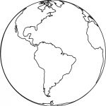 Free Printable Earth Coloring Pages For Kids   Earth Coloring Pages Free Printable