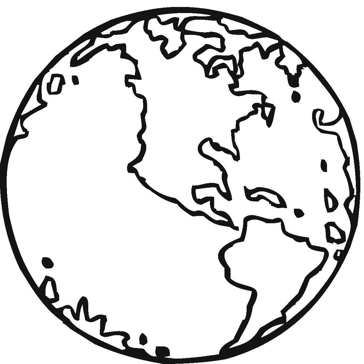 Free Printable Earth Coloring Pages For Kids | Stuff | Earth - Earth Coloring Pages Free Printable