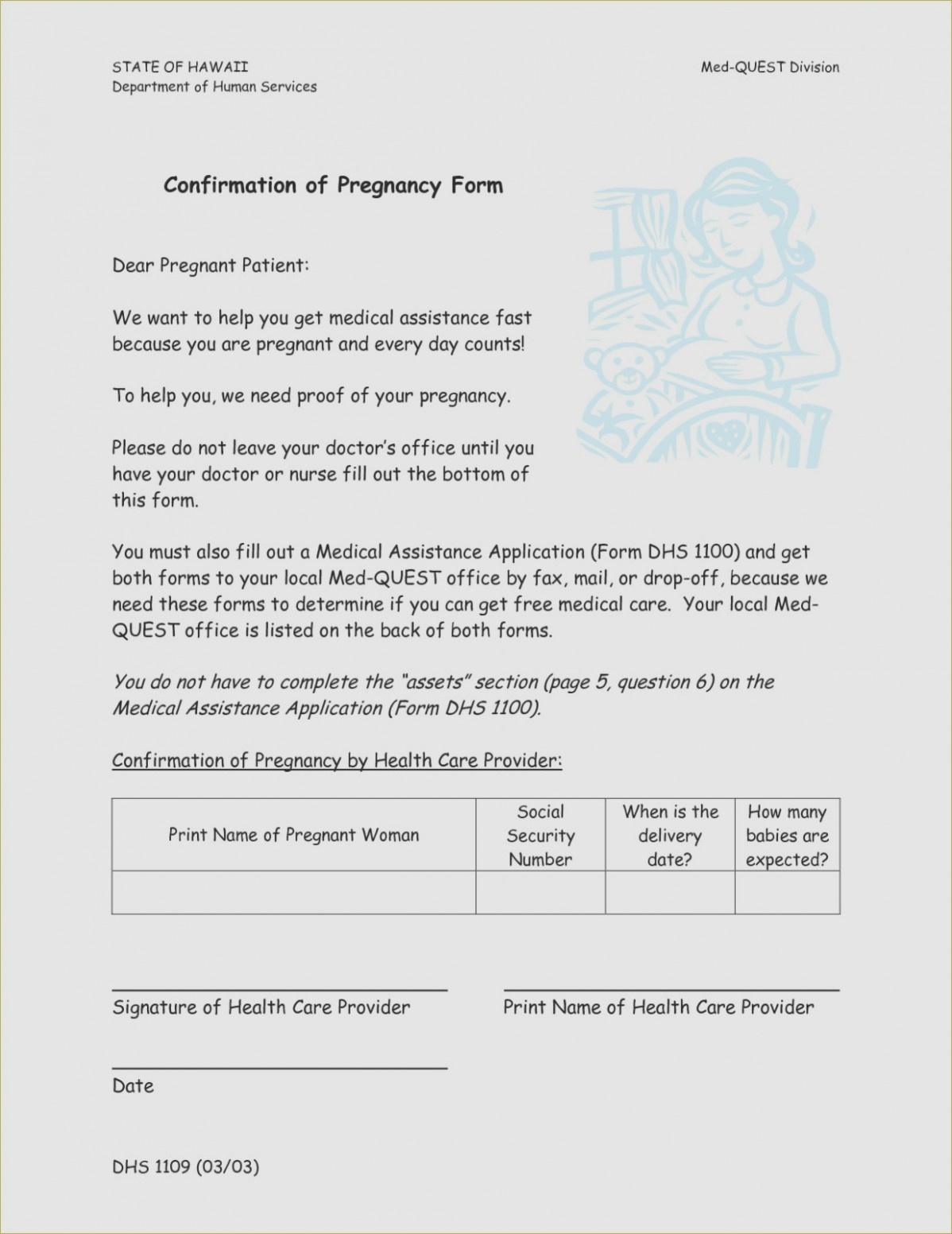Free Printable Fake Pregnancy Papers | Sample Documents – Proof Of - Free Printable Documents