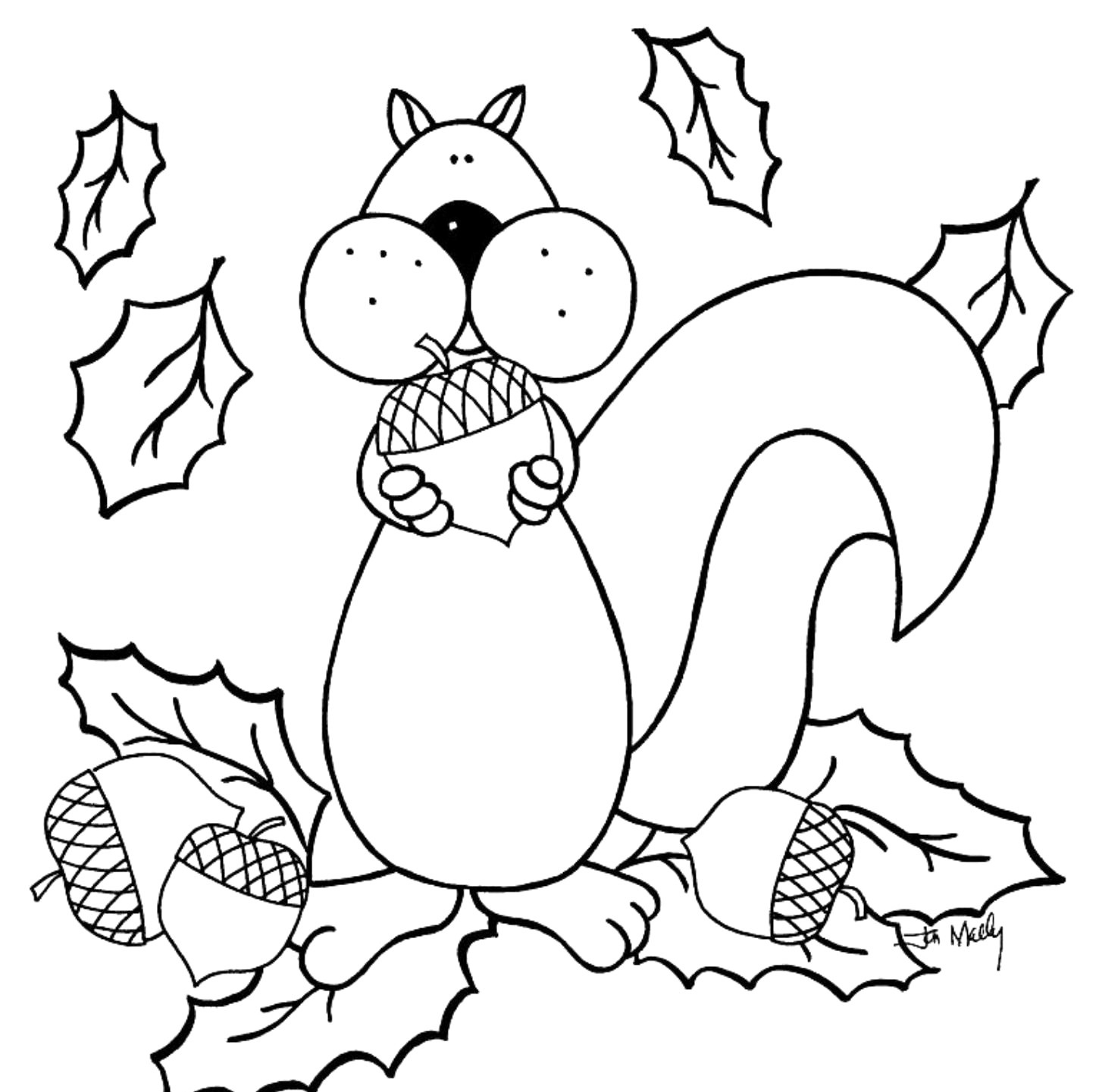 Free Printable Fall Coloring Pages For Kids - Best Coloring Pages - Free Fall Printable Coloring Sheets