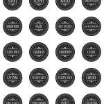 Free Printable Farmhouse Herb And Spice Labels   The Cottage Market   Free Printable Spice Labels