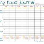 Free Printable Food Journal | Ellipsis   Free Printable Food Journal