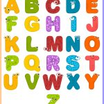 Free Printable For Kids (Toddlers/preschoolers) Flash Cards/charts   Free Printable Alphabet Chart
