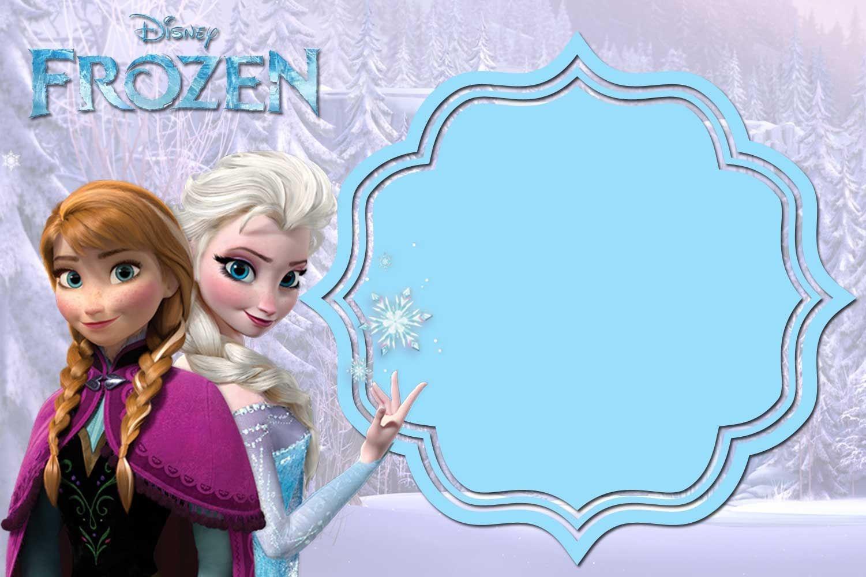 Free Printable Frozen Anna And Elsa Invitation Templates | Free - Free Printable Frozen Birthday Invitations